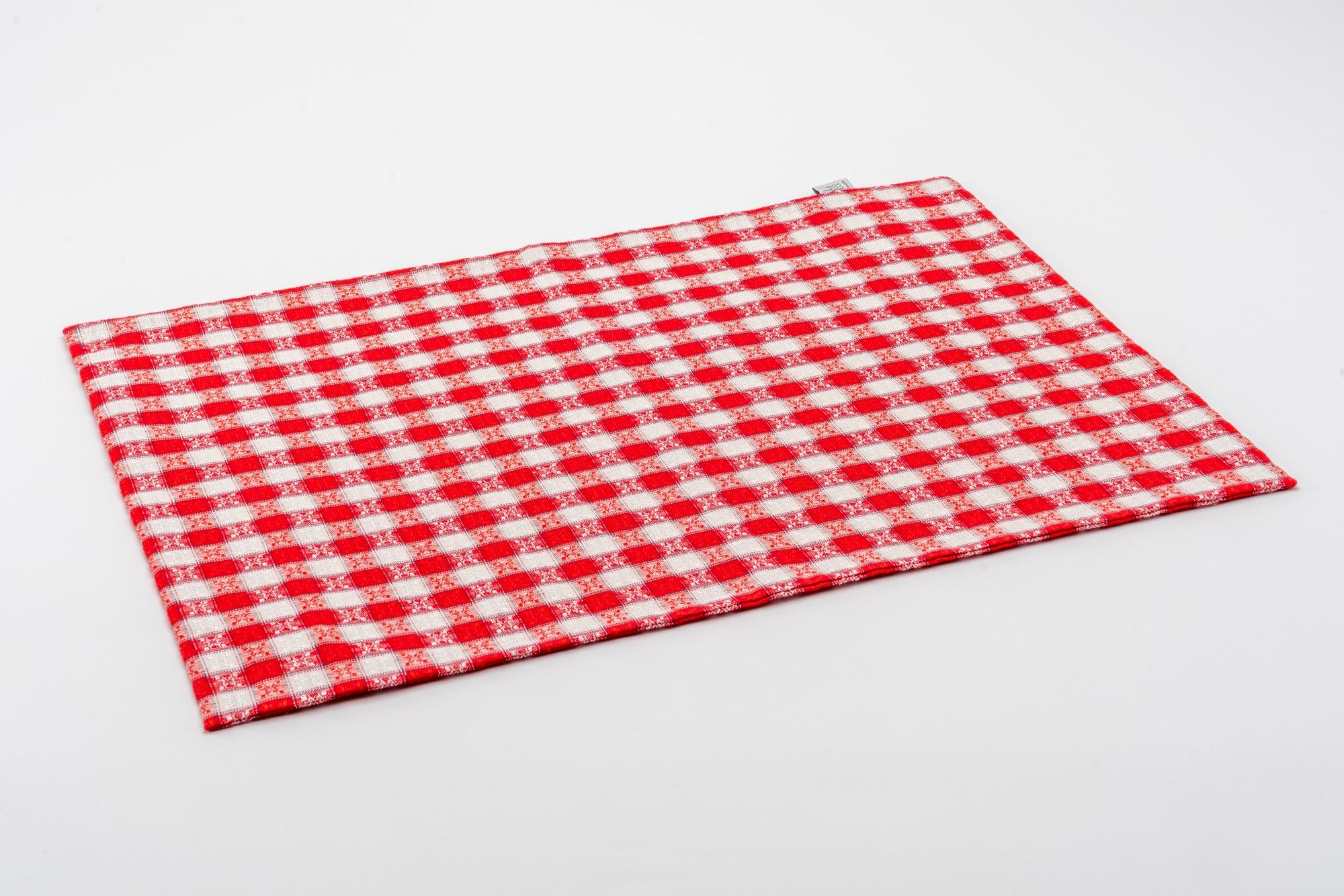 Kölsch Kissenbezug rot 40×60 offen