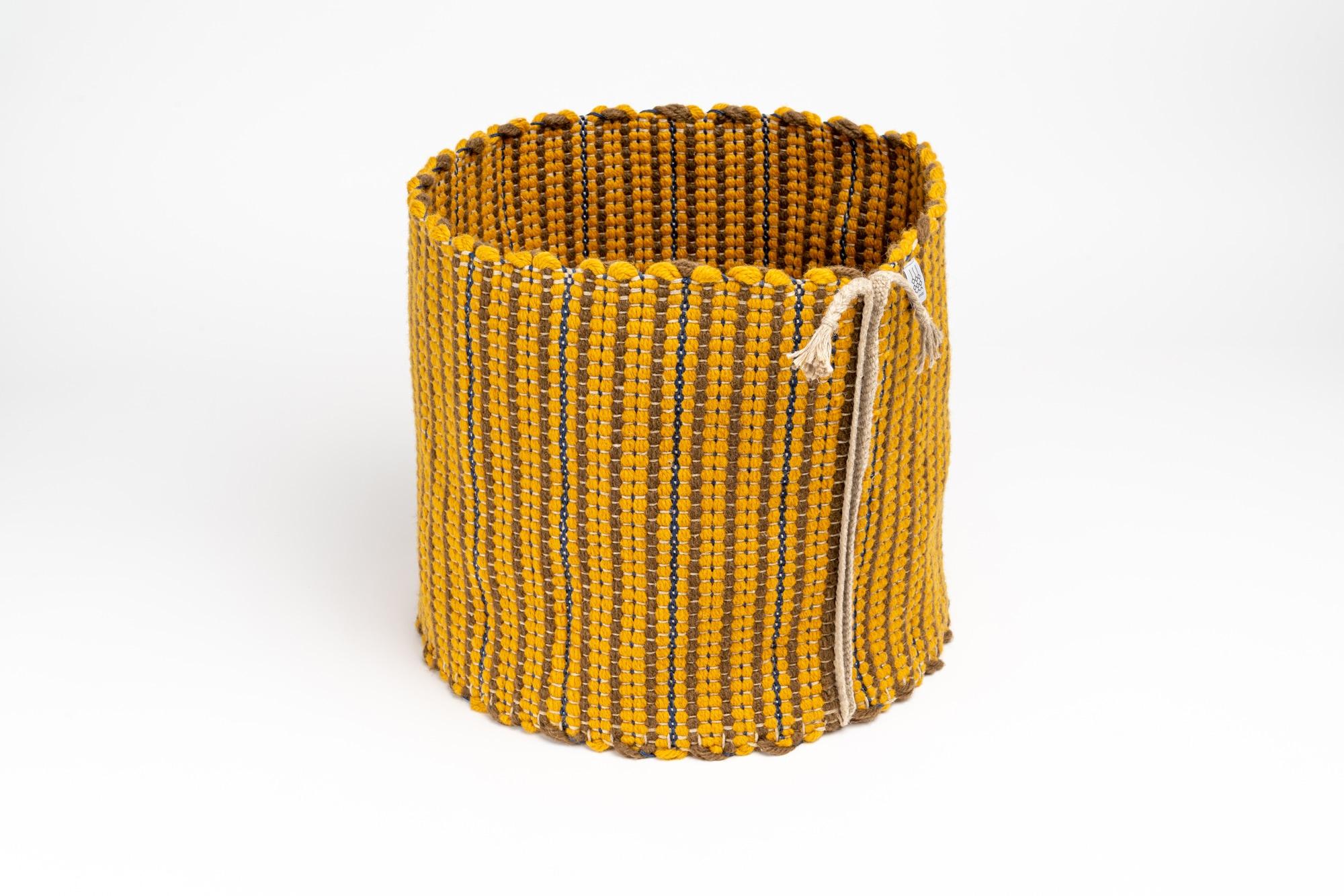 Dschember Korb gelb 1