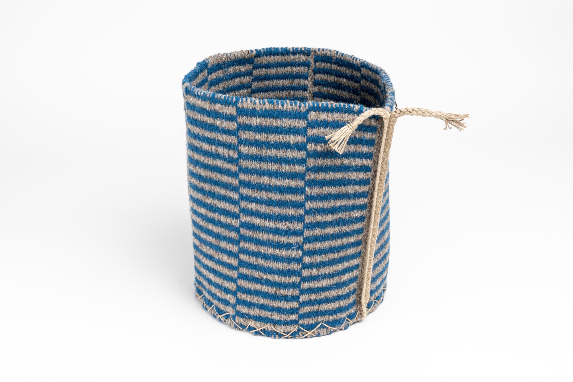 Larsch Korb blau 1