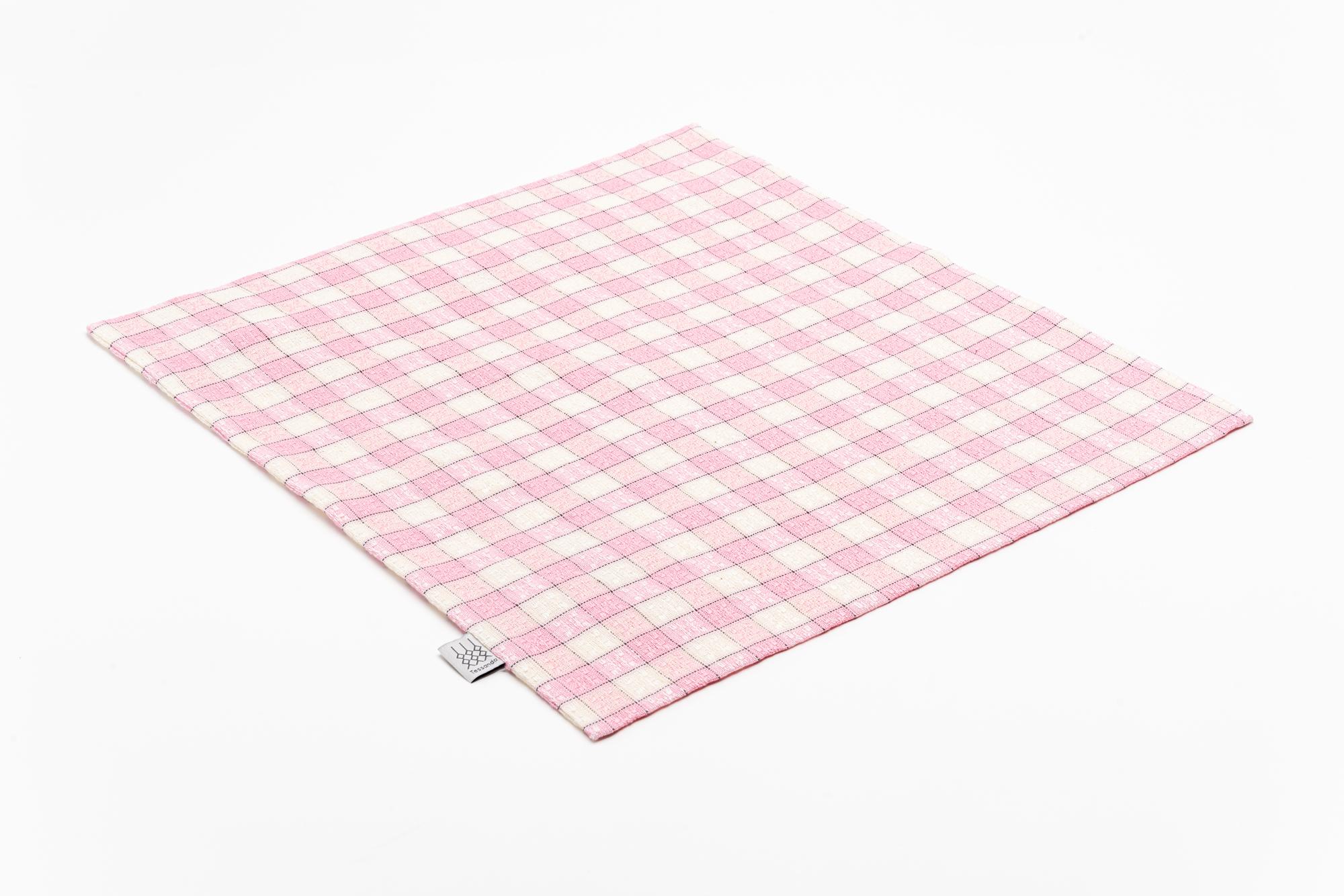Koelsch Kissenbezug 40×40 rosa offen