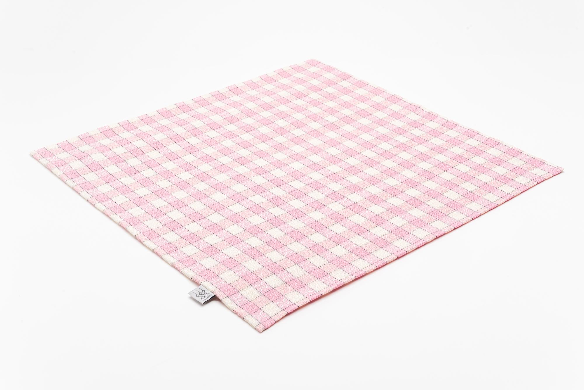 Koelsch Kissenbezug 50×50 rosa offen